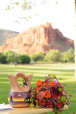 Native American  wedding ceremony  Sedona Arizona