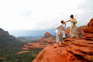 Elegant weddings in Sedona