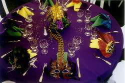 Mardi Gras Themed Wedding Reception Image Collections Choice Decoration