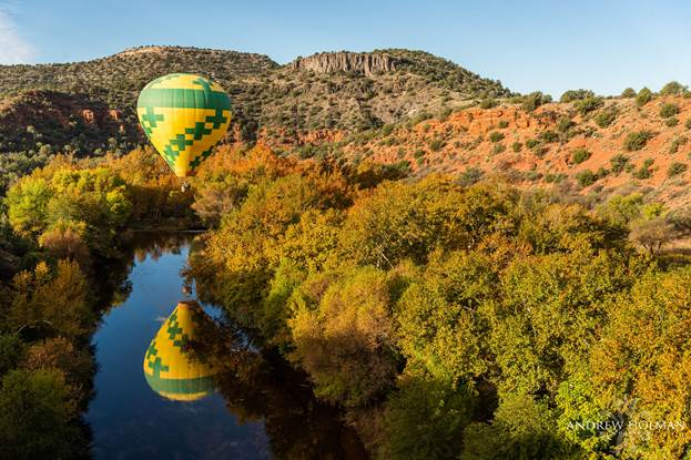 Sedona Wedding - Balloon Wedding